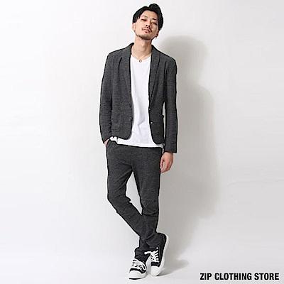 簡約休閒西裝套裝(3色) ZIP日本男裝