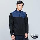 【LACHELN】拼接保暖立領衫-(L73MC17)
