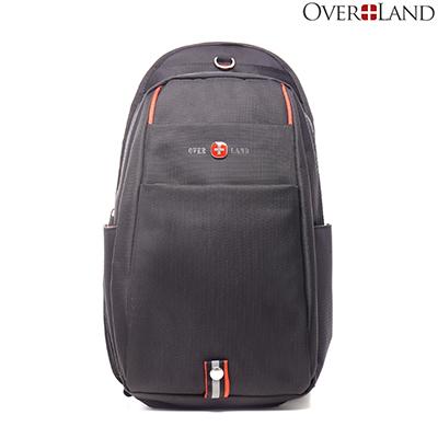 OVERLAND-美式十字軍x經典可調式拉鍊背帶胸肩包