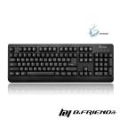 B.Friend GK1  防水遊戲專用有線鍵盤