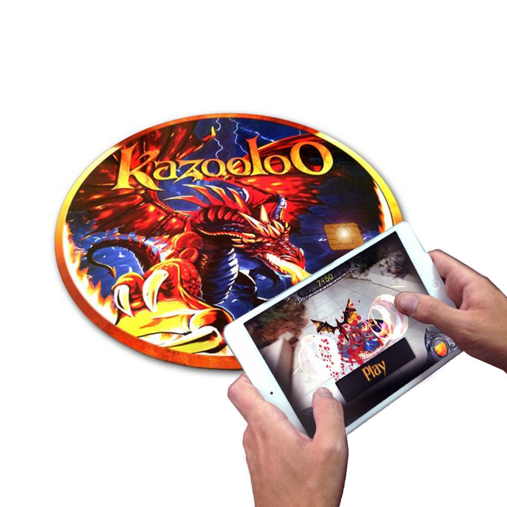 Kazooloo Vortex擴增實境感應遊戲圓盤