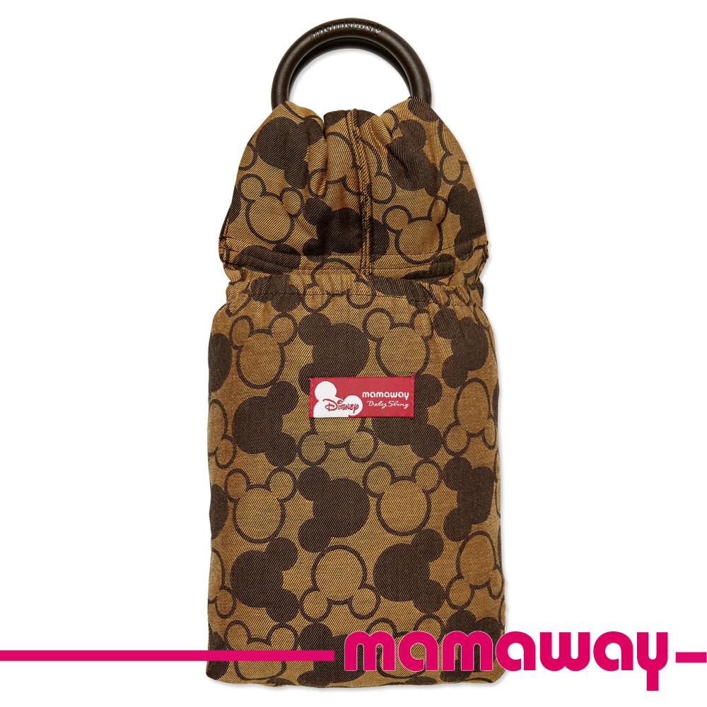 【Mamaway】米奇萬花筒育兒揹巾(咖啡)