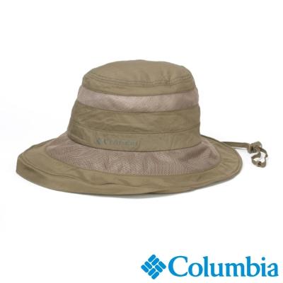 【Columbia哥倫比亞】女-韓版遮陽休閒帽-棕褐色 UYL06910TN
