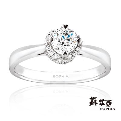 蘇菲亞SOPHIA - 薔薇0.30克拉ESI鑽戒