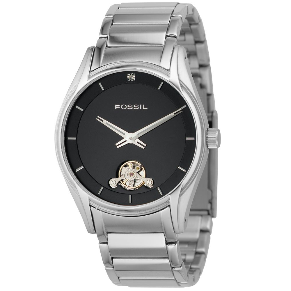 FOSSI  Twist系列 型男器度魅力雙芯腕錶/42mm