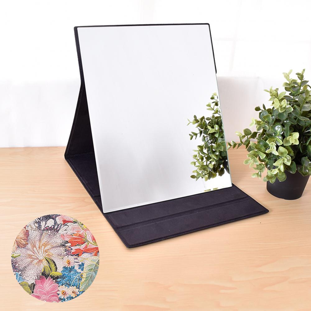凱堡 伊甸花園化妝摺疊桌鏡(大型31x26)