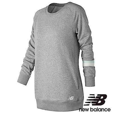 New Balance 長版長袖T恤 AWT73517AG 女性淺灰