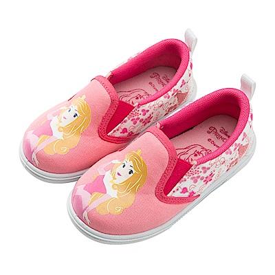 迪士尼童鞋 睡美人 Q版奧蘿拉公主 休閒鞋 便鞋-桃