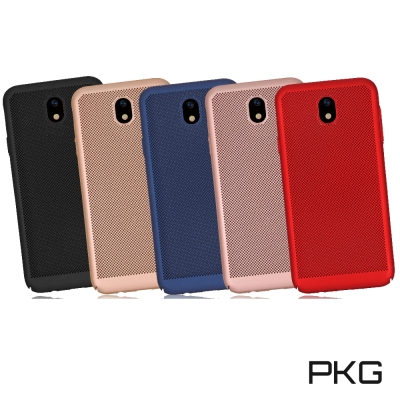 PKG Samsung J7PRO 保護殼 散熱透氣系列