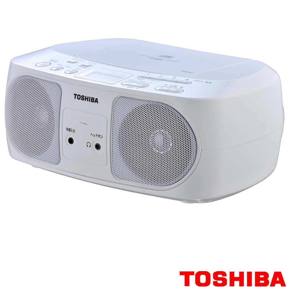 福利品-TOSHIBA 便攜式手提音響 TY-CRS12