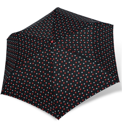 rainstory紅白星光抗UV輕細口紅傘