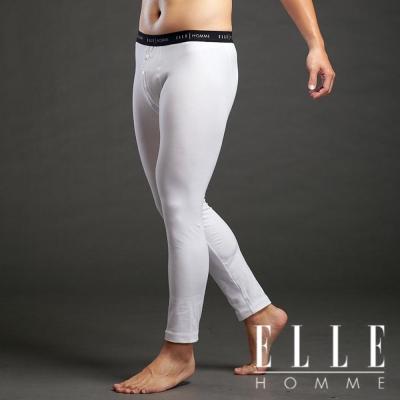 ELLE HOMME 秋冬衛生衣系列 ~ 保暖又舒適透氣衛生褲(白色)