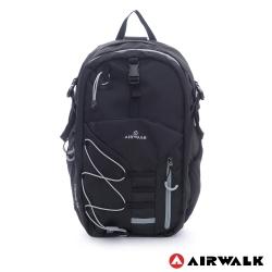 美國AIRWALK - 雙層護脊輕量筆電後背包