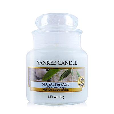 YANKEE CANDLE香氛蠟燭-海鹽與鼠尾草104g