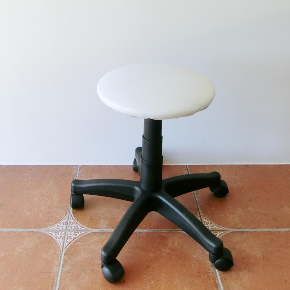 Amos-簡約黑白升降旋轉椅