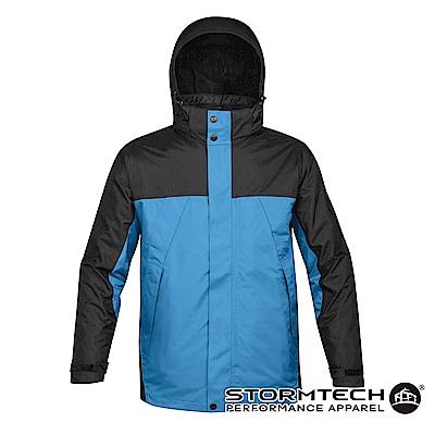 【加拿大STORMTECH】VPX-4五合一全氣候多功能抗寒兩件式外套-男-藍黑