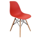 AT HOME - 北歐迪仕設計餐椅 (四色可選) 46x42x81cm