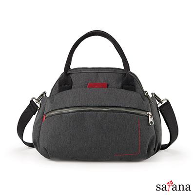 satana -Fresh 輕職人心機美人手提包-麻花黑