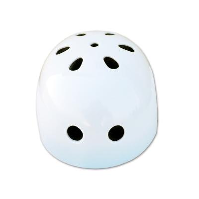 兒童直排輪安全帽 白