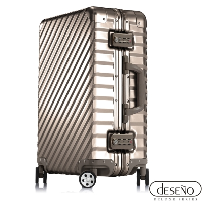 Deseno 鐵甲武士L'armatura-20吋輕量鋁鎂合金旗艦行李箱(3色)
