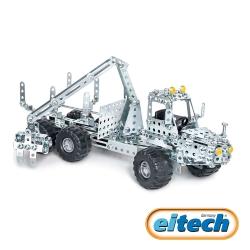 【德國eitech】益智鋼鐵玩具-2合1小型收割機-C305