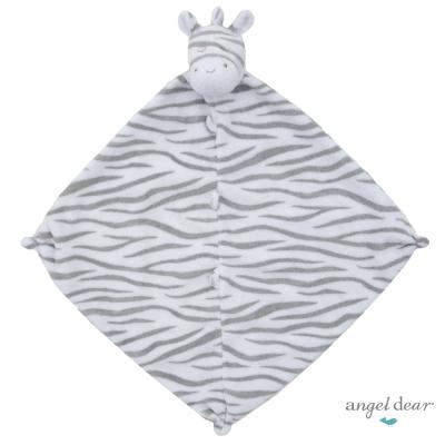 美國 Angel Dear 動物嬰兒安撫巾(黑白斑馬)