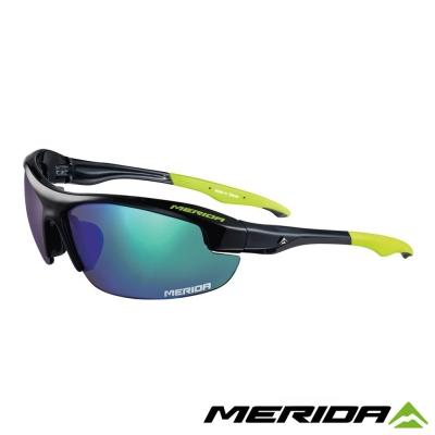 MERIDA-美利達護目鏡1066-綠反光片-黃色