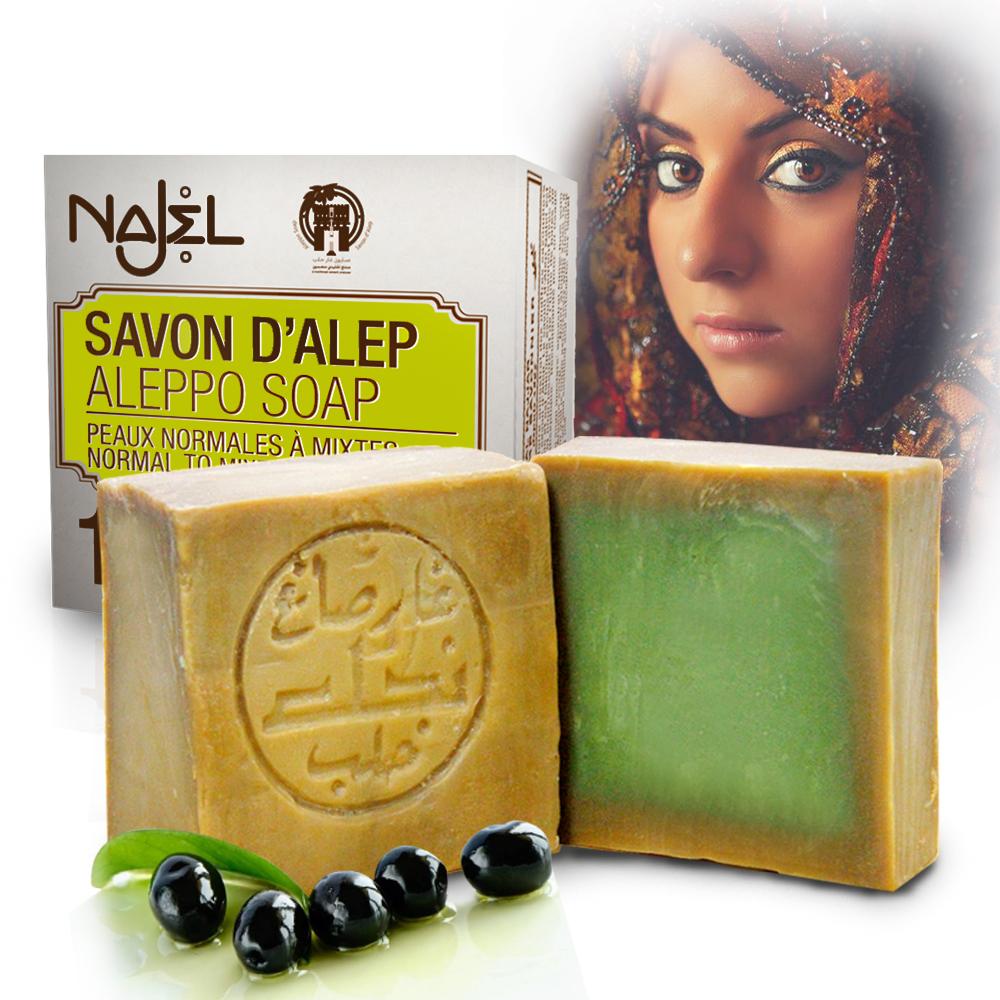 正宗敘利亞Najel月桂油12%阿勒坡手工古皂200g