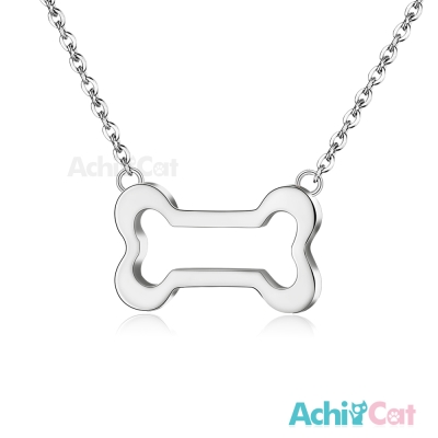 AchiCat 珠寶白鋼項鍊 簡愛 寵溺(銀色)