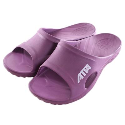 成人減壓足弓運動風拖鞋 紫 sd0070 魔法Baby