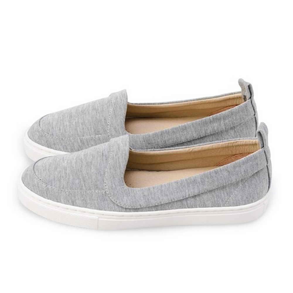 FUFA  MIT 舒適休閒懶人鞋 (FO02) 灰色