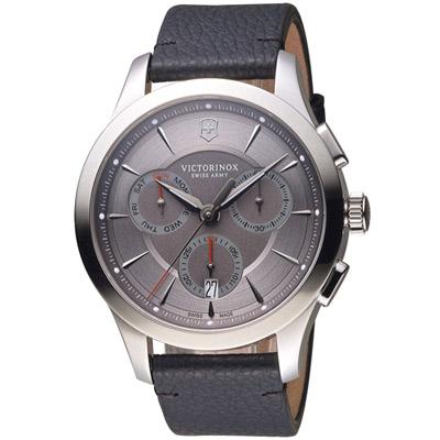 維氏 VICTORINOX ALLIANCE 腕錶系列 -黑/44mm
