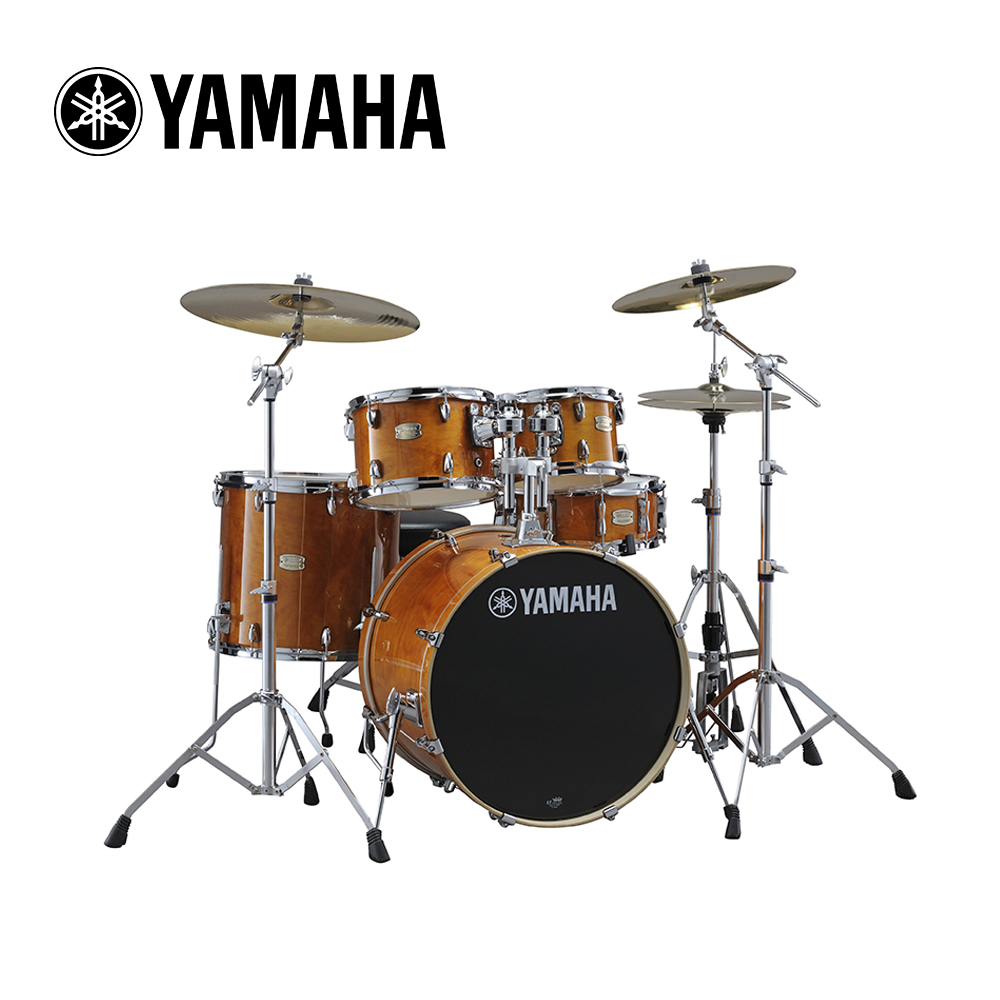 YAMAHA Stage Custom 爵士鼓組 蜂蜜琥珀色款