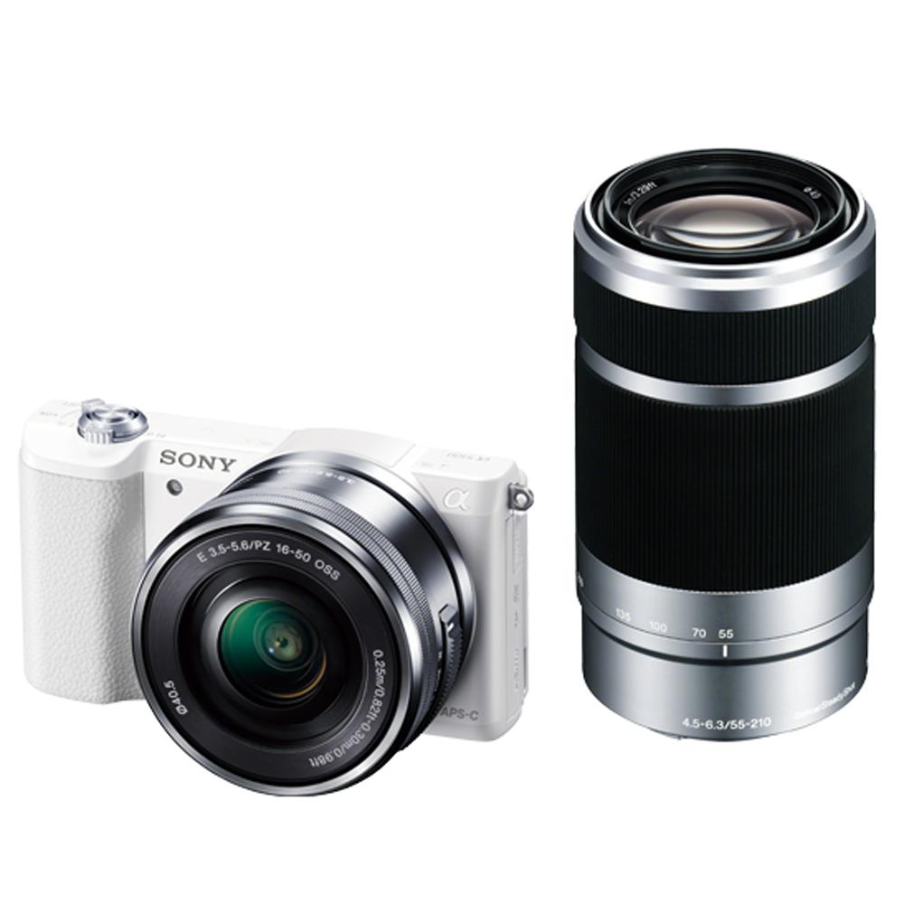 SONY A5100 16-50mm 55-210mm 變焦雙鏡組(公司貨)