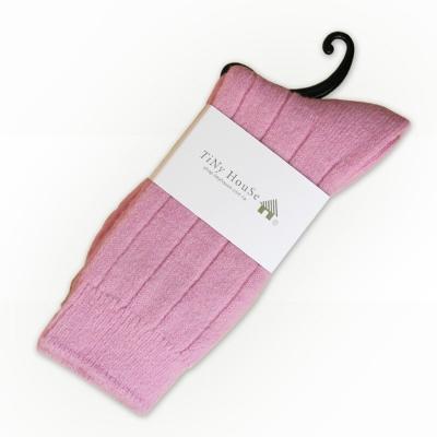 TiNyHouSe保暖羊毛襪 粉色2入