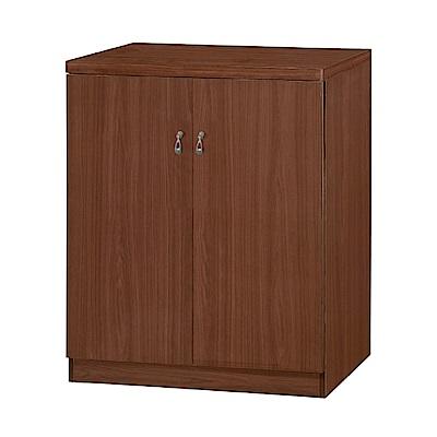 品家居 百麗2.5尺二門鞋櫃(四色)-76x38x90.8cm免組