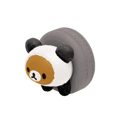 拉拉熊我愛大貓熊系列迷你盒玩。輪胎懶熊