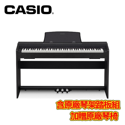 CASIO PX770 BK 88 鍵數位電鋼琴 時尚黑色款 @ Y!購物