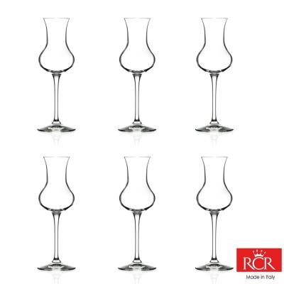 義大利RCR茵芙曼無鉛水晶烈酒杯(6入)_80cc