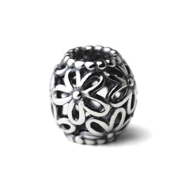 Pandora 潘朵拉 純銀墜-鏤空花朵