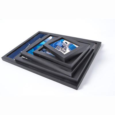 松木造型相框5框組合(7吋2個+10吋1個+12吋1個+16吋1個)