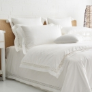 Cozy inn 北角-300織精梳棉四件式被套床包組(特大)