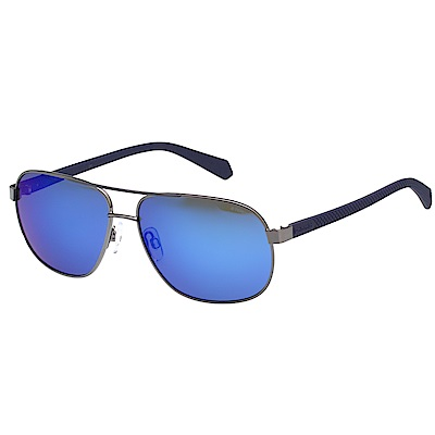 Polaroid 寶麗萊 水銀面偏光太陽眼鏡 (槍色)PLD2059S
