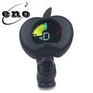 ENO EMT-310 夾式彩色顯示螢幕調音器 蘋果造型黑色款