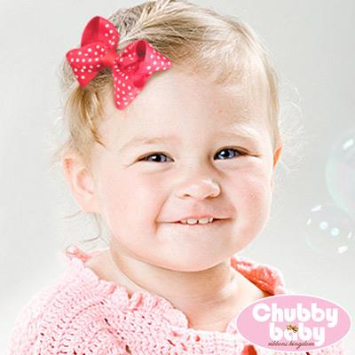 Chubby Baby巧比貝比 兒童寶寶髮夾Fancy
