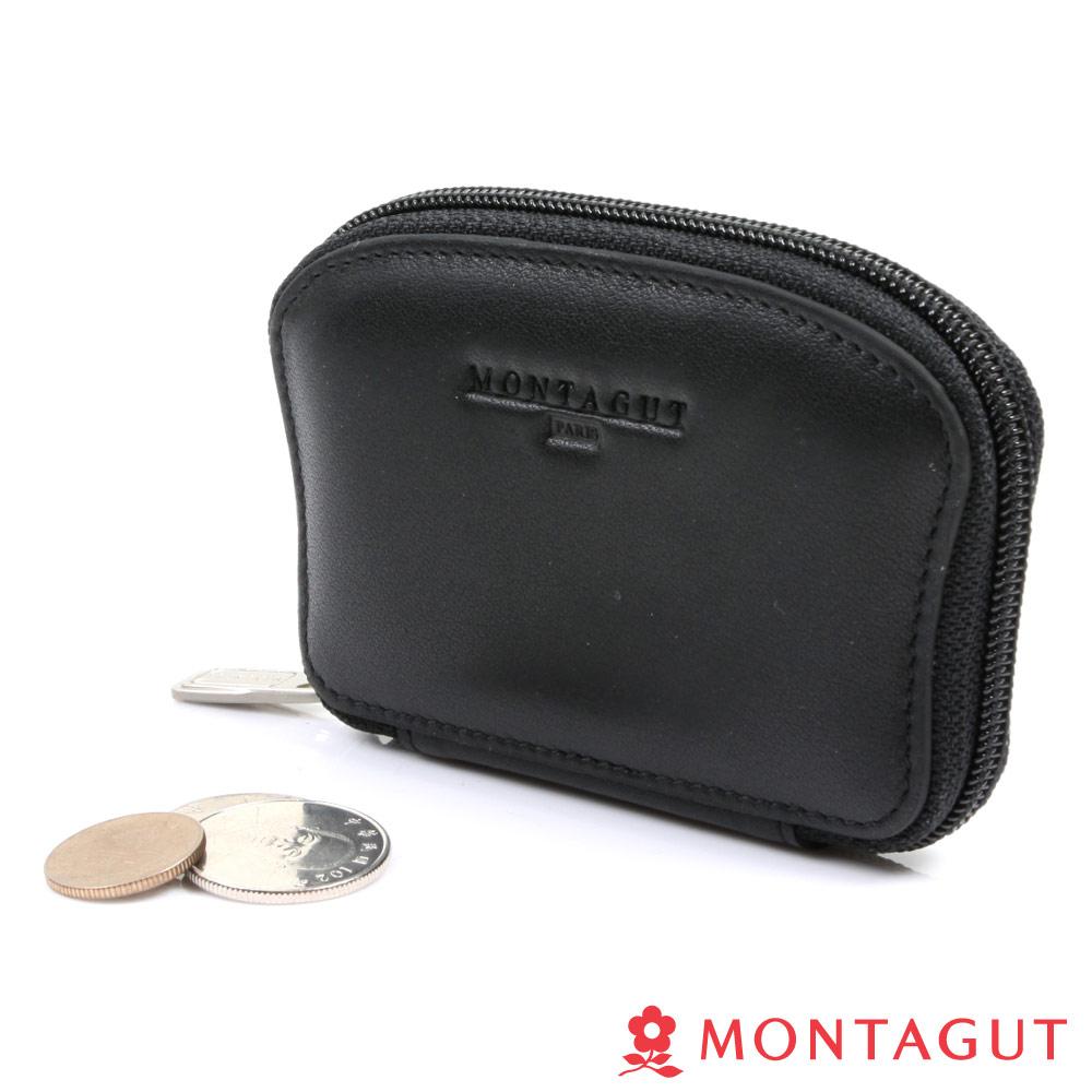MONTAGUT夢特嬌- 精品 頭層牛皮 鎖包