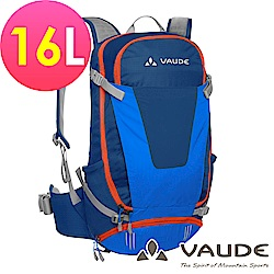 【ATUNAS 歐都納】德國VAUDE-Moab16L透氣登山背包VA-11937藍15