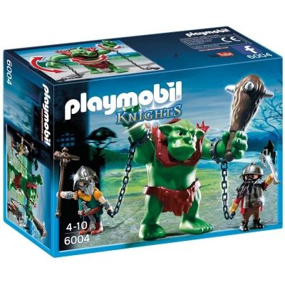playmobil 中古騎士系列 巨人與巨魔戰士矮人