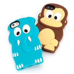 Griffin Kazoo IPHONE 5/5S/SE可愛動物矽膠套