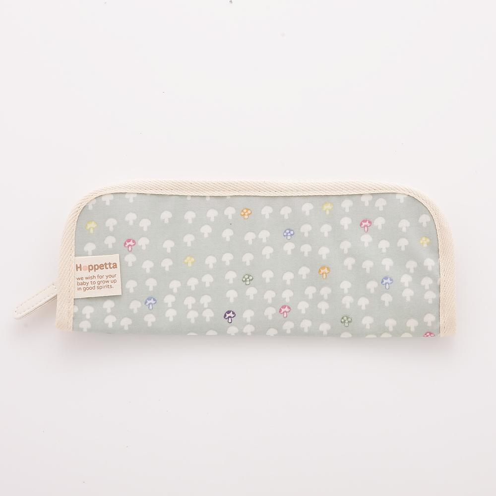 【Hoppetta】蘑菇餐具袋(水藍)